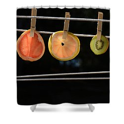 Just Juicin Around - Diet Shower Curtain