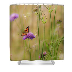 Just Landed Shower Curtain