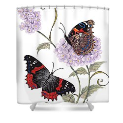 Just Living Is Not Enough Shower Curtain by Stanza Widen