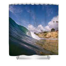 Shower Curtain featuring the photograph Just Me And The Waves by Sean Foster