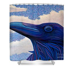Just Once Shower Curtain by Brian  Commerford