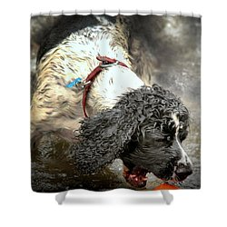 Shower Curtain featuring the photograph Just One More Second by Wallaroo Images
