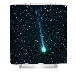 Shower Curtain featuring the photograph Just Passing Through by Bryan Carter