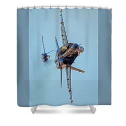 Just Passing Through Shower Curtain
