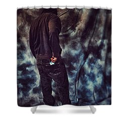 Just Past Abstinence Shower Curtain