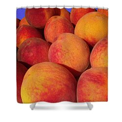 Just Peachy Shower Curtain