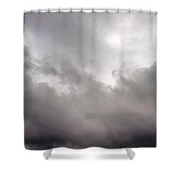 Just Some #greysky #miserable Shower Curtain