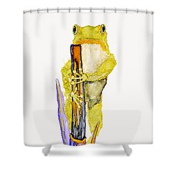 Just Standing Here Shower Curtain