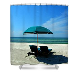 Just The Two Of Us Shower Curtain by Susanne Van Hulst