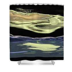 Just This Side Of Midnight Shower Curtain