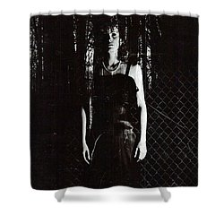 Just Waiting Shower Curtain