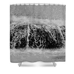 Just Water Shower Curtain by Dorin Adrian Berbier