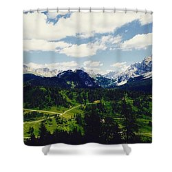 Just You And A Quiet Place Shower Curtain