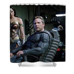 Justice League Ben Affleck Gal Gadot 4k Shower Curtain