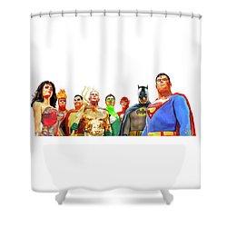 Justice League Shower Curtain
