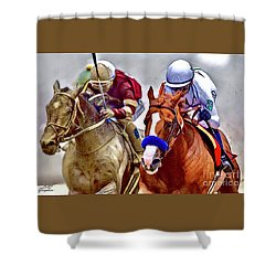 Justify In The Lead Shower Curtain