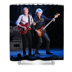 Justin And John In Concert 2 Shower Curtain