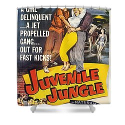 Juvenile Jungle Shower Curtain