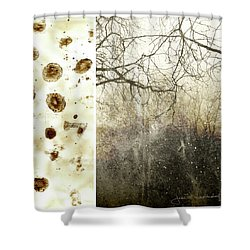 Juxtae #17 Shower Curtain
