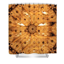 Juxtapose Shower Curtain