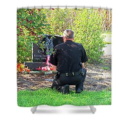 K-9 Arthur Shower Curtain