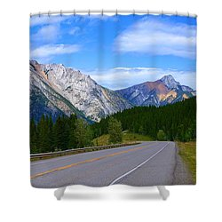 Kananaskis Country Shower Curtain by Heather Vopni