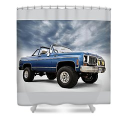 K5 Blazer Shower Curtain