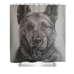 K9  Shower Curtain