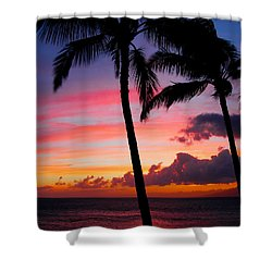 Kaanapali Sunset  Kaanapali  Maui Hawaii Shower Curtain