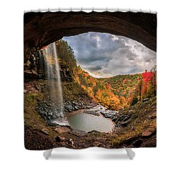 Shower Curtain featuring the photograph Kaaterskill Falls by Anthony Fields