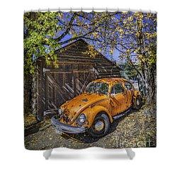 Kafer Beetle Shower Curtain