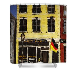 Kaffee Vonsolln Shower Curtain