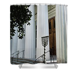 Kahal Kadosh Beth Elohim Shower Curtain