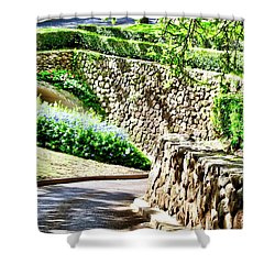 Kahili Golf Course Tunnel Shower Curtain