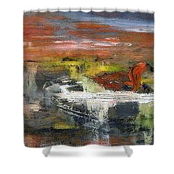 Kaiser Pond Shower Curtain by Lisa Kaiser