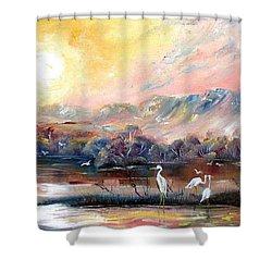 Kakadu Shower Curtain