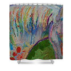 Kalaidaescope Shower Curtain by Kimberly Santini