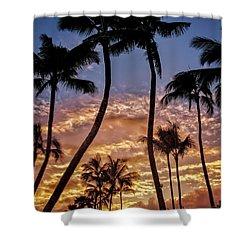 Kalapki Sunset Shower Curtain