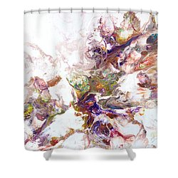 Kaleidescope Of Color Shower Curtain