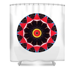 Shower Curtain featuring the photograph Kaleidos - Babalou02 by Jack Torcello