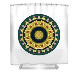 Shower Curtain featuring the photograph Kaleidos - Grindavik01 by Jack Torcello