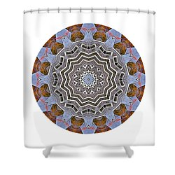Shower Curtain featuring the photograph Kaleidos - Nantucket by Jack Torcello