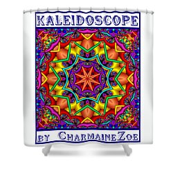 Kaleidoscope 2 Shower Curtain