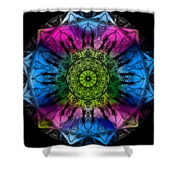 Kaleidoscope - Colorful Shower Curtain