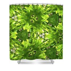 Kaleidoscope Flower Shower Curtain