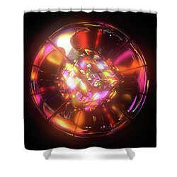 Kaleidoscope Shower Curtain