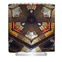 Kaleidoscope Mirror Effect 13 Shower Curtain