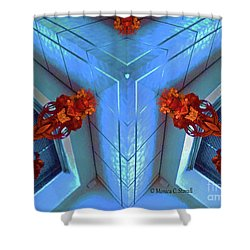 Kaleidoscope Mirror Effect M5 Shower Curtain
