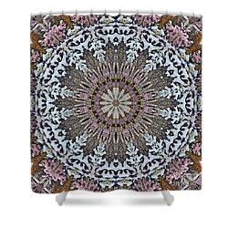 Kaleidoscope O Eighteen Shower Curtain