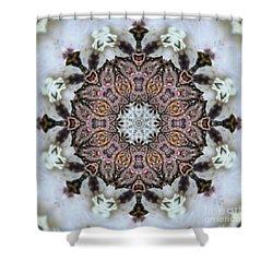 Kaleidoscope O Seven Shower Curtain